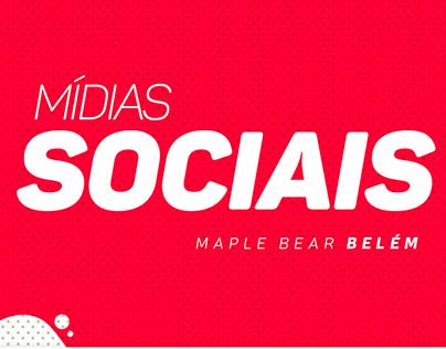 Mídias sociais - Maple Bear Belém - 2018.1