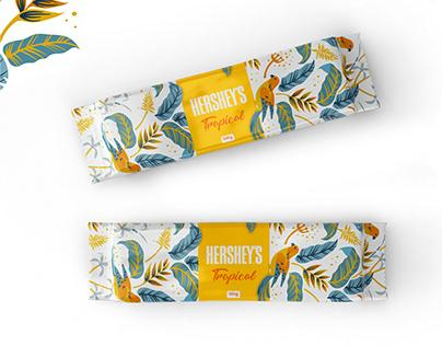 Hershey's Tropical | Packaging