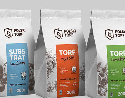 POLSKI TORF - packaging design
