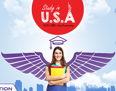 Facebook Boost image concept for study abroad