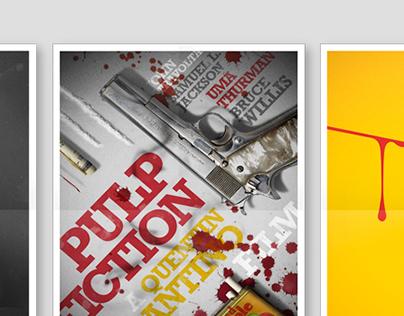 Quentin Tarantino Film Posters