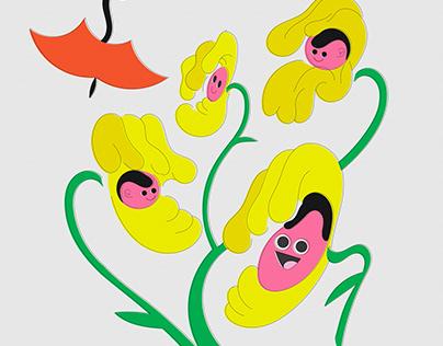 Flowers &Vegetables