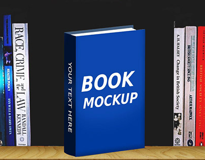 Realistic Book Mockup Library Version