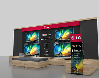 LG Shop in Shop @ Sweden