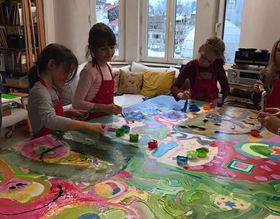 Art Class /w children