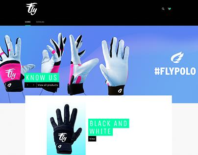 FLY POLO . Branding EShop Fotografía