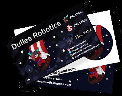 Robotics Team Business Card