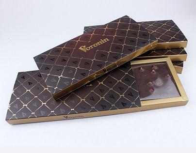 """Дизайн POS-материалов """"Модный дом Воронин"""""""