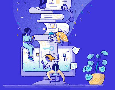 Illustrations for Clayton digital communication