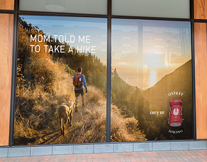 Advertising Campaign for Osprey Backpacks