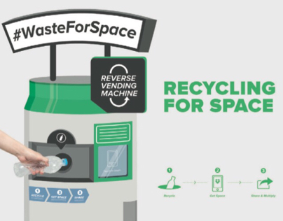 #WasteForSpace