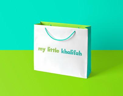 my little khalifah logo design