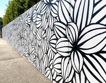 Gland Botanical Mural
