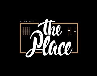 The Tlace Home Studio Lettering
