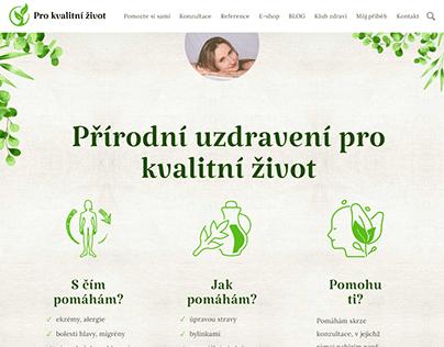 Tvorba webu - Radka Krosnářová (2020)