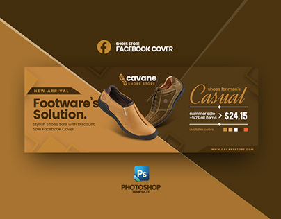 Facebook Cover Photoshop Template