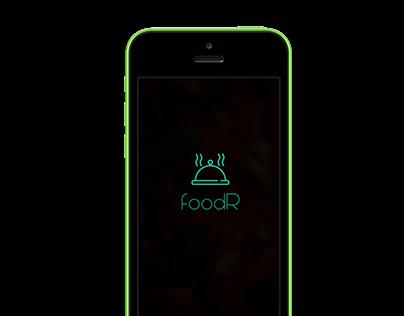 FoodR: Online food ordering app