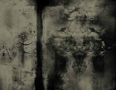 Cosmic trees VIII/II/IV, digital painting