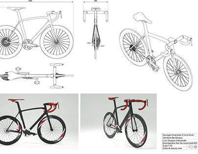 Reverse engineered Look 695 (render + cad)