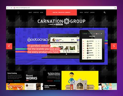CarnationGroup website