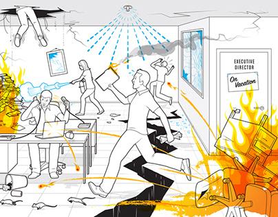 Summer Office Chaos