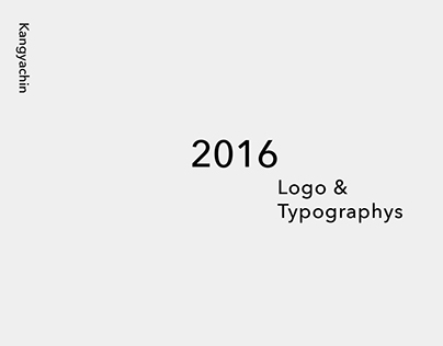 2016 Logo&Typographys