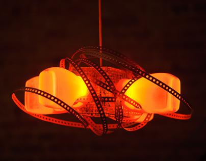 Horny Hornet chandelier