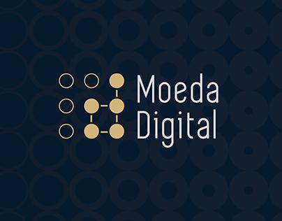 Site Institucional e Identidade Visual - Moeda Digital