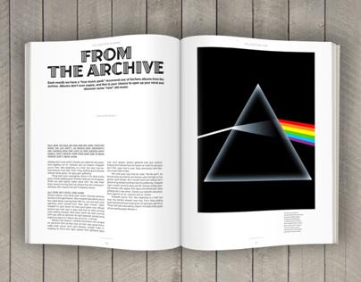 Editorial - Redesign: Rolling Stone Magazine