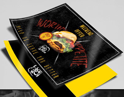 THE CHEF - FLYER DESIGN