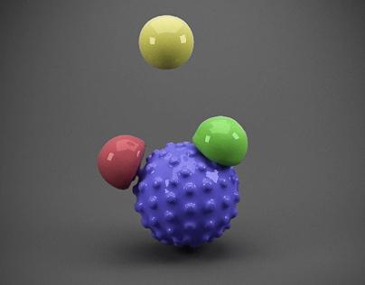 Balls Simulation