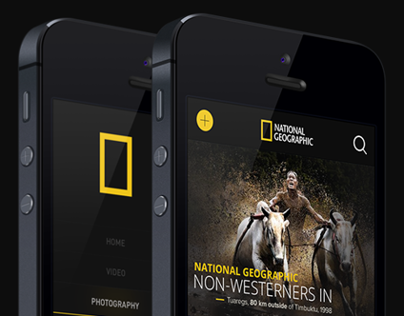 National Geographic iphone App.