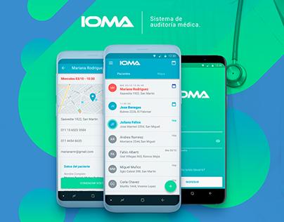 App IOMA - UX/UI Design