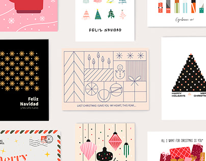 CHRISTMAS CARDS | TARJETAS NAVIDAD