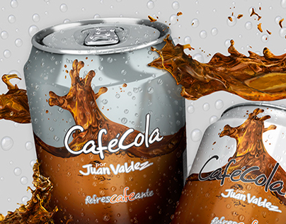 Café Cola - Juan Váldez. Red File Studio
