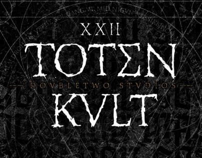 XXII Totenkult - Font