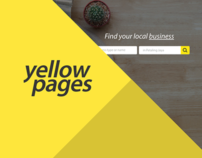 YellowPages Malaysia - Redesign