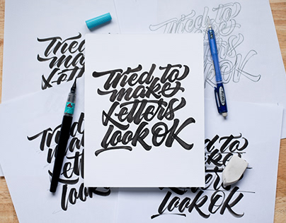 Letter Style Collection 001