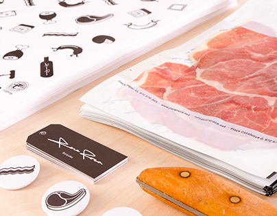 VIANDA packaging for Deli Shop PERE ROCA