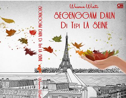 Segenggam Daun di Tepi La Seine Book Cover Illustration