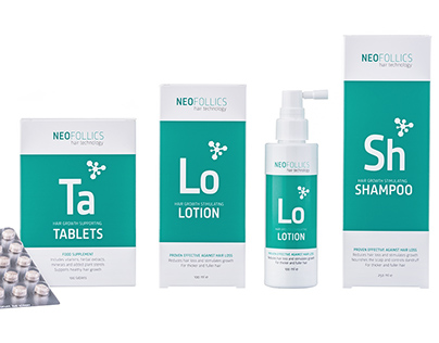 Neofollics packaging design