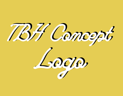 TBH Photography concept logo