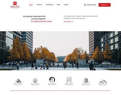 Investor's Business Website Design