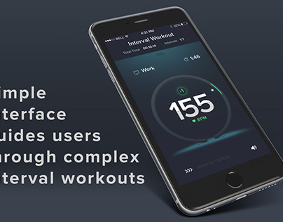 Guided Cardio Interval Training Mobile App