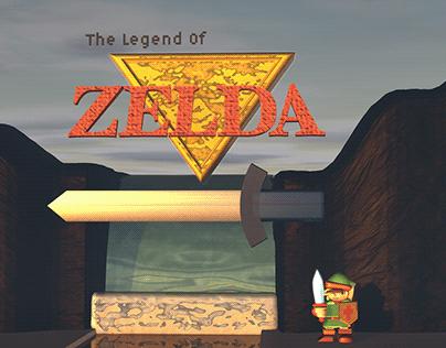 Zelda Title Screen Reimagined