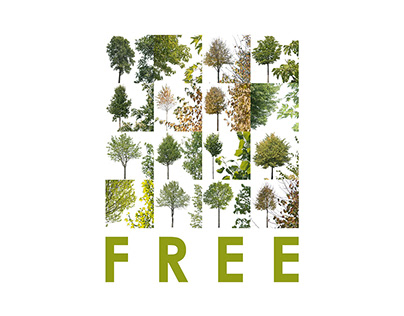 16 free cut-out trees