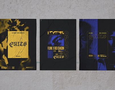 Quits Album Cover & Posters
