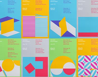 Terrasse Electronique - Visual Identity