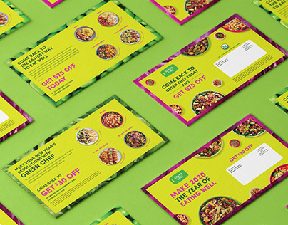 GreenChef, Direct Mail