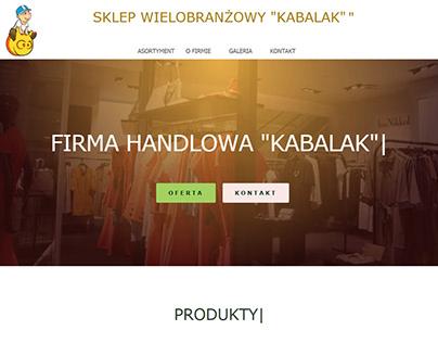 Sklep Kabalak Website